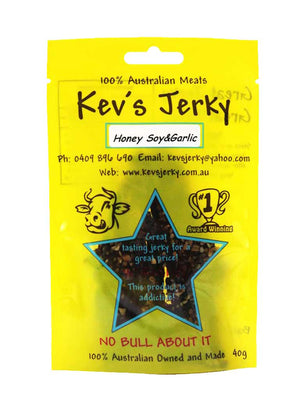 Honey soy&garlic  Beef Jerky 40g