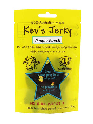 Pepper Punch  Beef Jerky 40g bag