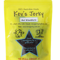 Red Wine&garlic Beef Jerky 100g bag