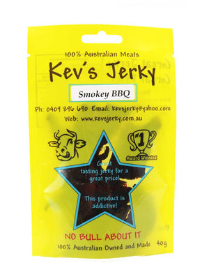 Smokey BBQ Beef Jerky 40g bag