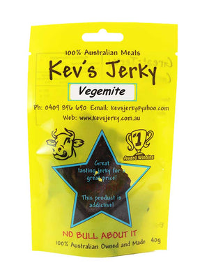 Vegemite Beef Jerky 40g bag