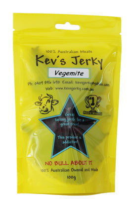 Vegemite Beef Jerky 100g bag