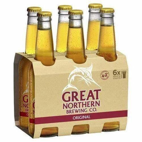 Great Northern 6 pack Beer - Original