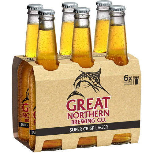 Great Northern 6 pack Beer - Super Crisp