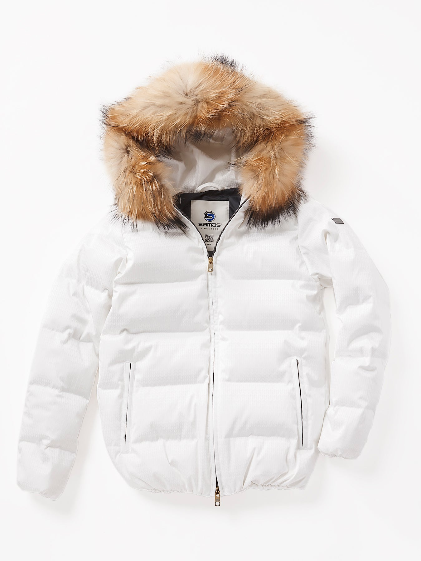 <WOMEN><br>FurHoodie Down Short Jacket<br>