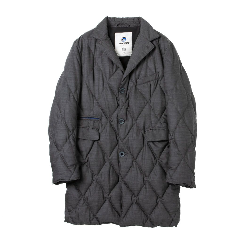 <MEN><br>Down Chesterfield Coat<br>