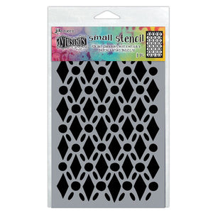 "Dyan Reaveley 5""x8"" stencil - Fancy Floor"