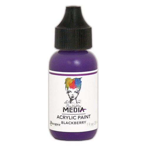 Dina Wakley Media 1oz paint - Blackberry