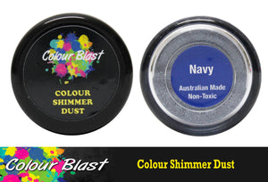 Colour Blast shimmer dust - Navy