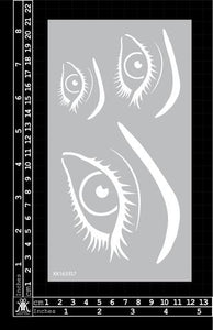Kinder Kreations - Eye 02 stencil