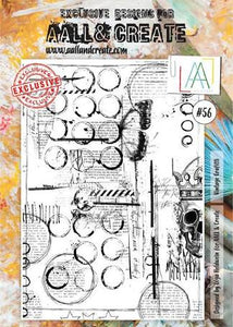 AALL&Create stamp set #56