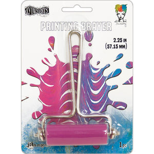 Gel press printing Brayer small (2.25 inches)