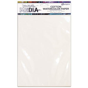 Dina Wakley Media Cotton watercolour paper 10/pack