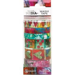 Dina Wakley washi tape- set 3
