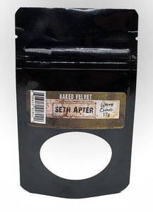 Seth Apter -White cloud Baked Velvet embossing powder