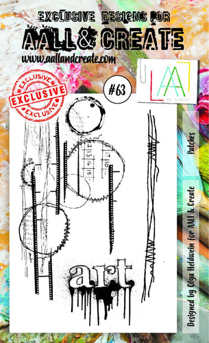 AALL&Create stamp set #63 - Patches by Olga Heldwein