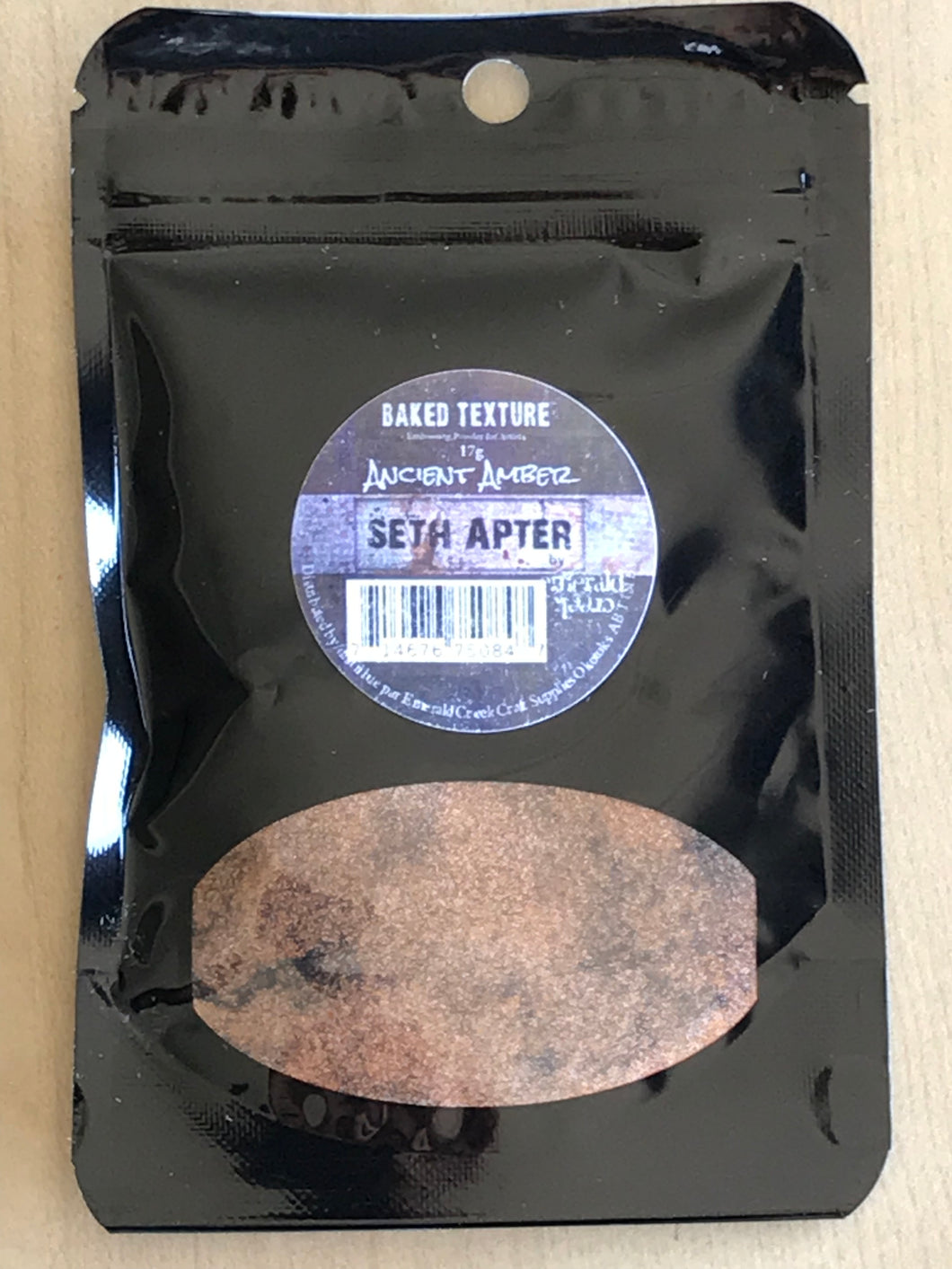 Seth Apter - Ancient Amber Baked Texture embossing powder