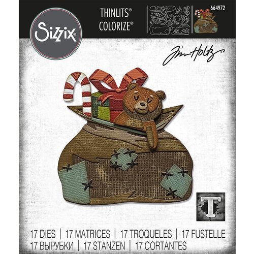 Tim Holtz Alterations thinlits dies - Toyland Colorize
