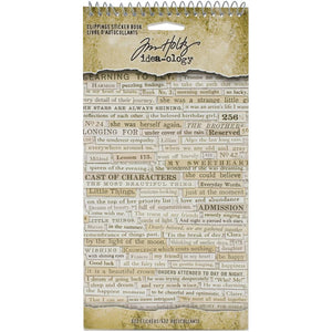Tim Holtz Idea-ology Clippings sticker book