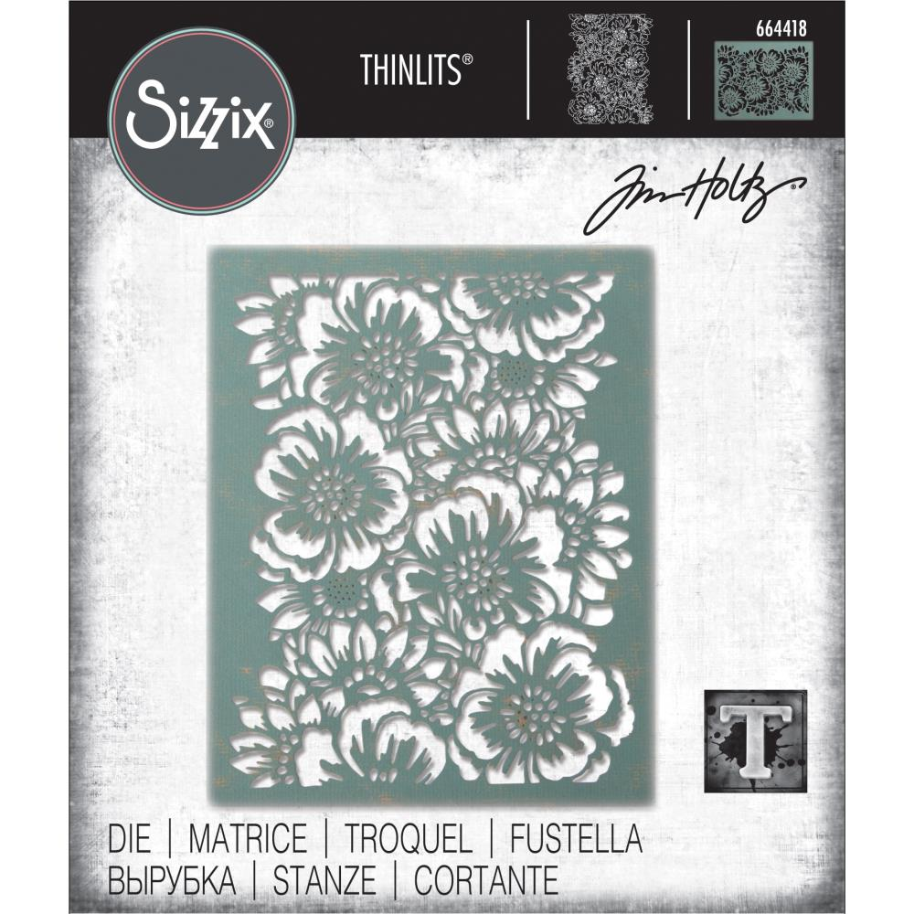 Tim Holtz Sizzix thinlits dies - Bouquet