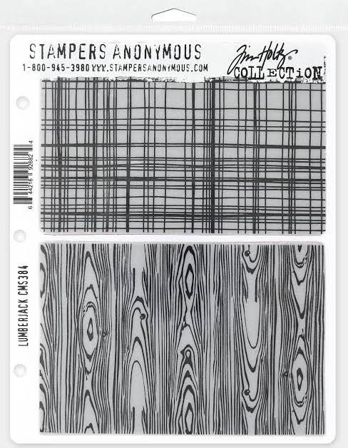 Tim Holtz Stampers anonymous - Lumberjack