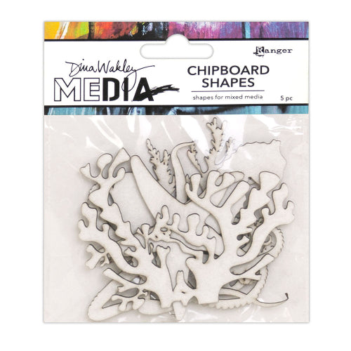 Dina Wakley media chipboard - Ocean