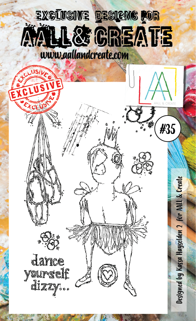 AALL&Create stamp set #35