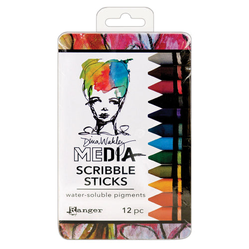 Dina Wakley Scribble sticks SET 2