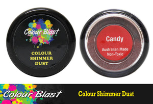 Colour Blast shimmer dust - Candy