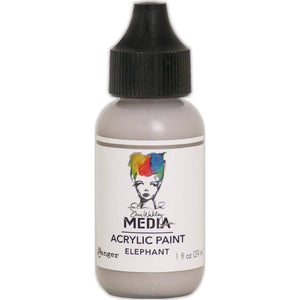 Dina Wakley Media 1oz paint - Elephant