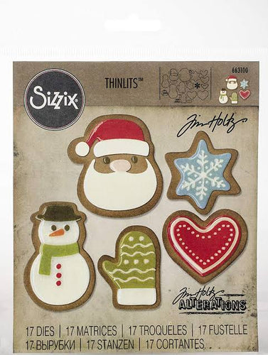 Tim Holtz Alterations thinlits dies - Fresh Baked #1