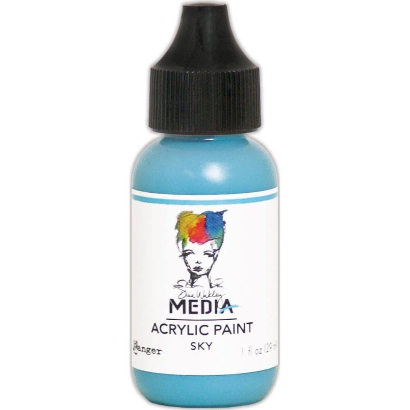 Dina Wakley Media 1oz paint - Sky