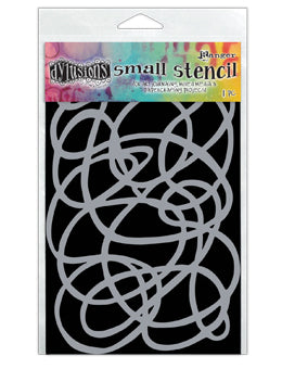 "Dyan Reaveley 5""x8"" stencil - squiggle"