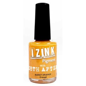 Seth Apter Izink pigment - Burnt Orange