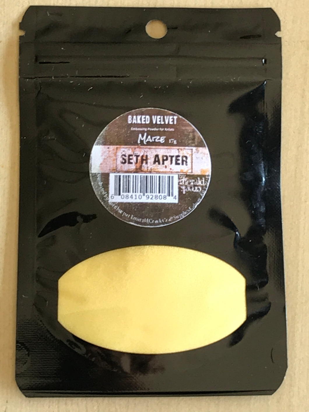 Seth Apter -Maize Baked Velvet embossing powder