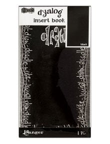 Dyan Reaveley - Dylusions Dyalog insert books: Black