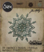 Tim Holtz Sizzix thinlits dies - Flurry #4