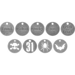 Tim Holtz idea-ology - Halloween Typed tokens