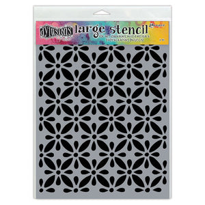 "Dyan Reaveley 9""x12"" stencil - Quilts"