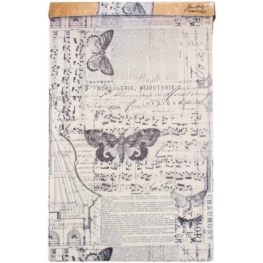 Tim Holtz - Idea-Ology Tissue Wrap Melange 12