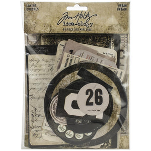 Tim Holtz Idea-ology Layers - Urban