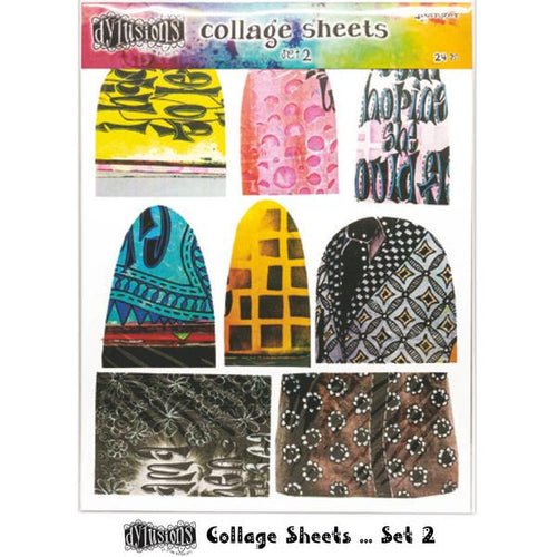 Dylusions collage sheets- set 2