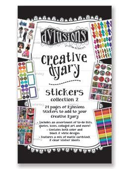 Creative Dyary stickers 2