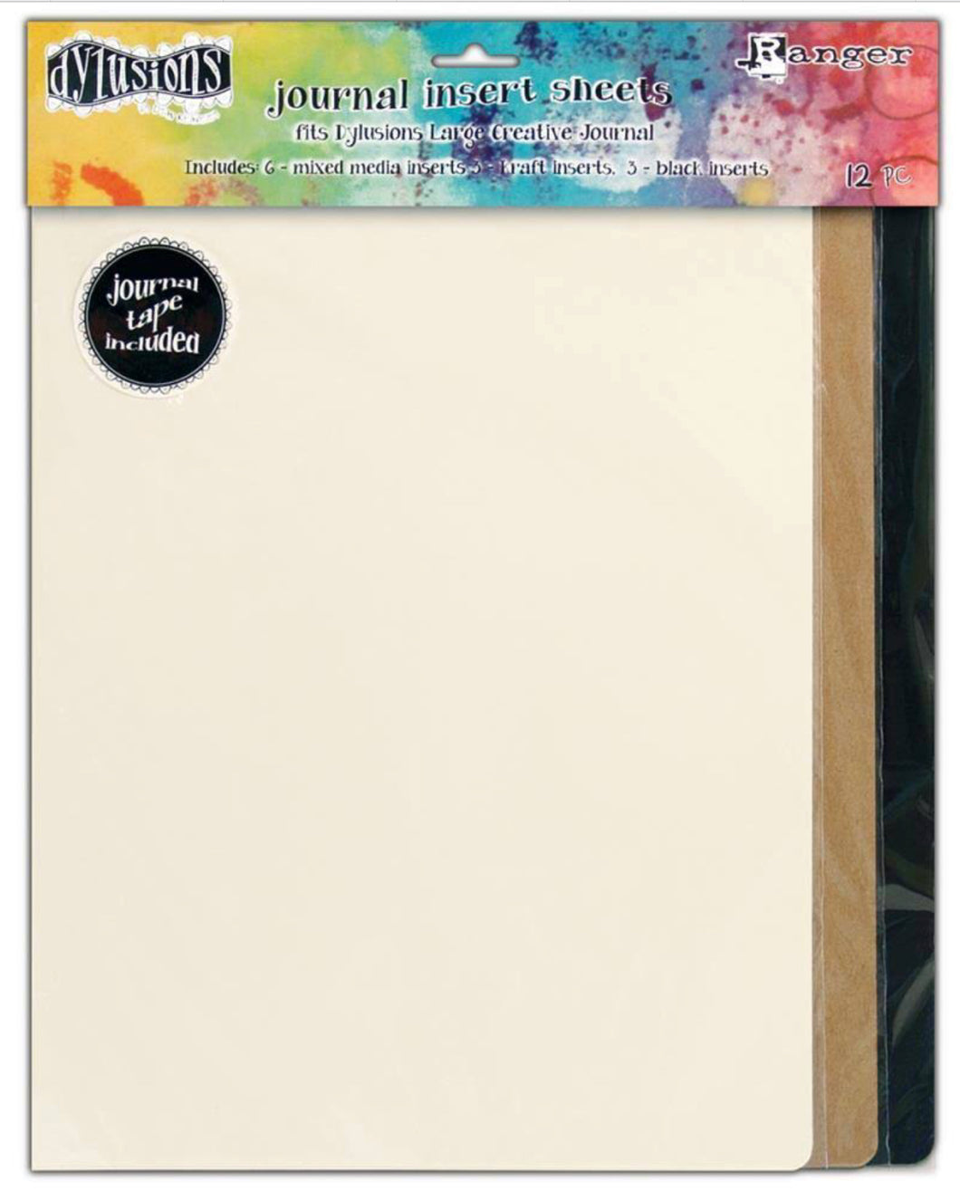 Dylusions Journal Insert sheets - Large