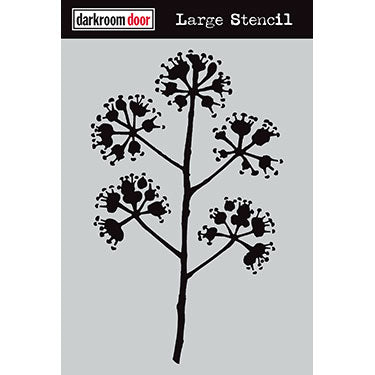 Darkroom Door stencil - Blossum Large (9
