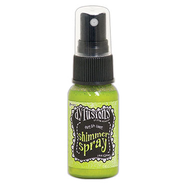 Dylusions Ink Shimmer spray - Fresh lime
