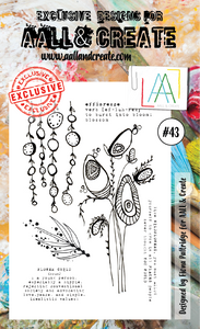 AALL&Create stamp set #43
