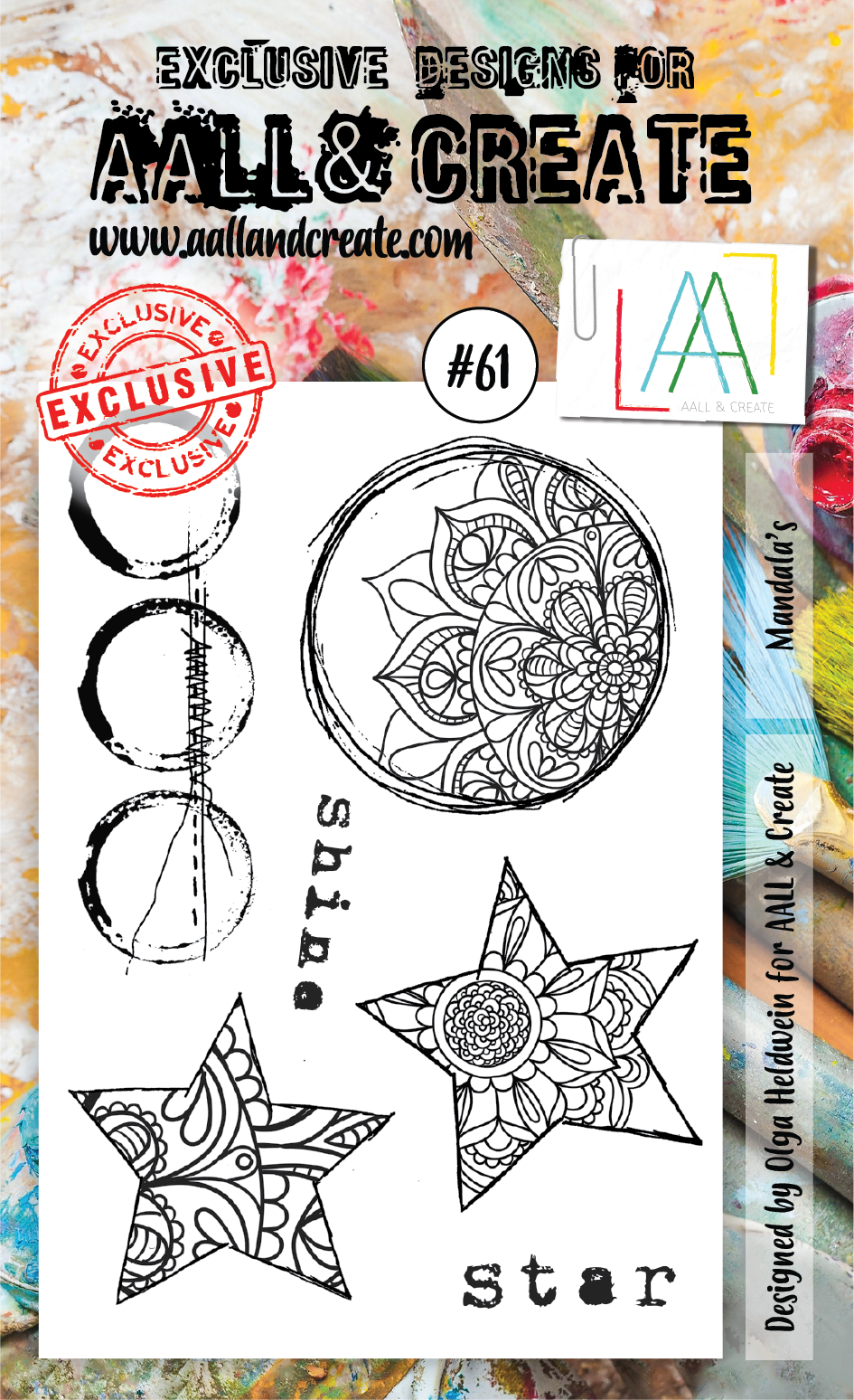AALL&Create stamp set #61