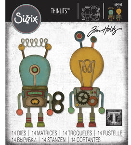 Tim Holtz Alterations thinlits dies - Robotic