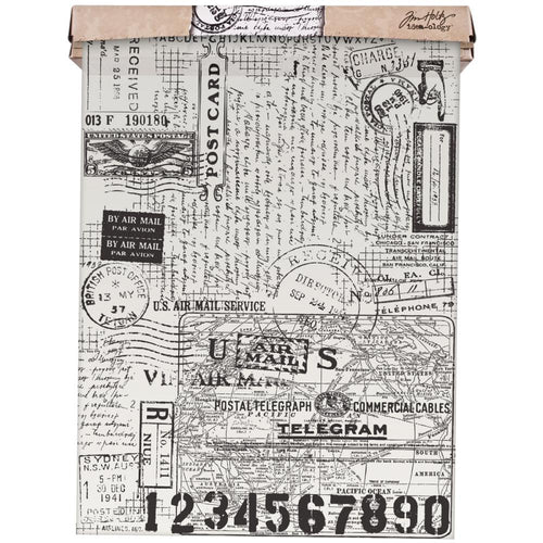 Tim Holtz - Idea-Ology Tissue Wrap Postale 12
